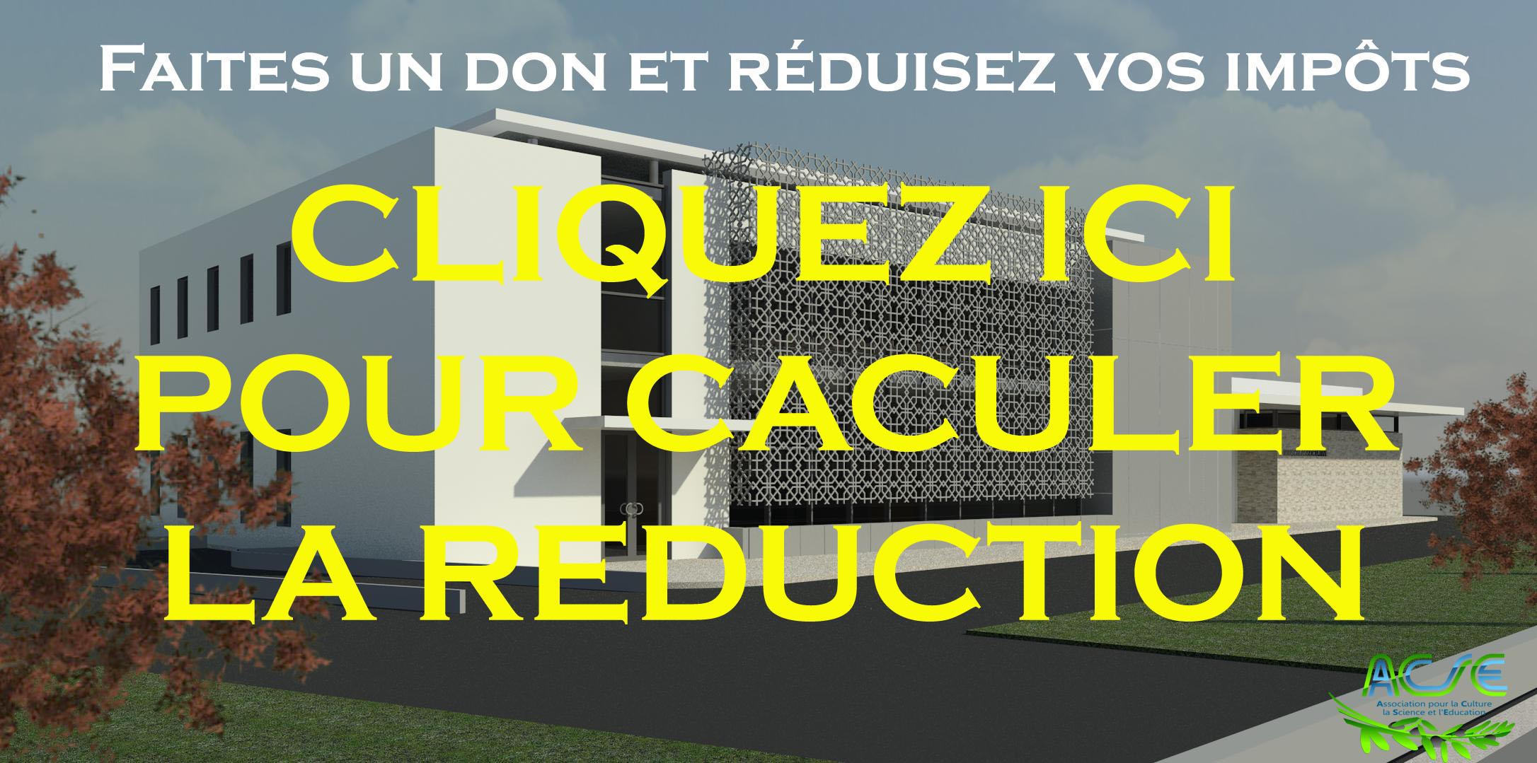 REDUCTION D'IMPÔT