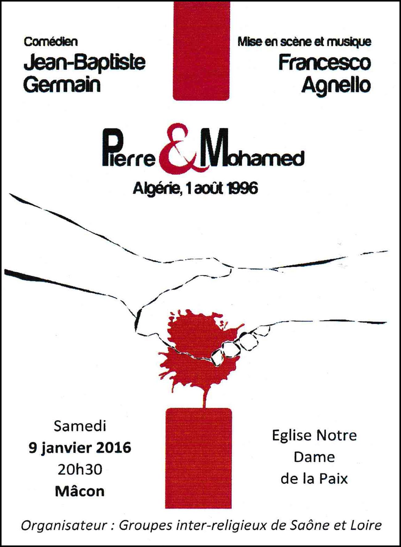 Pièce de Théâtre Pierre et Mohamed copie
