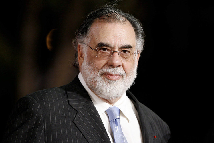 "Director Francis Ford Coppola at the Rome Film Festival in Rome on October 20, 2007. Coppola is in Rome premiering his new film ""Youth Without Youth"", his first film in nearly 10 years. Photo: Donatella Giagnori/Maxppp +++(c) dpa - Report+++"